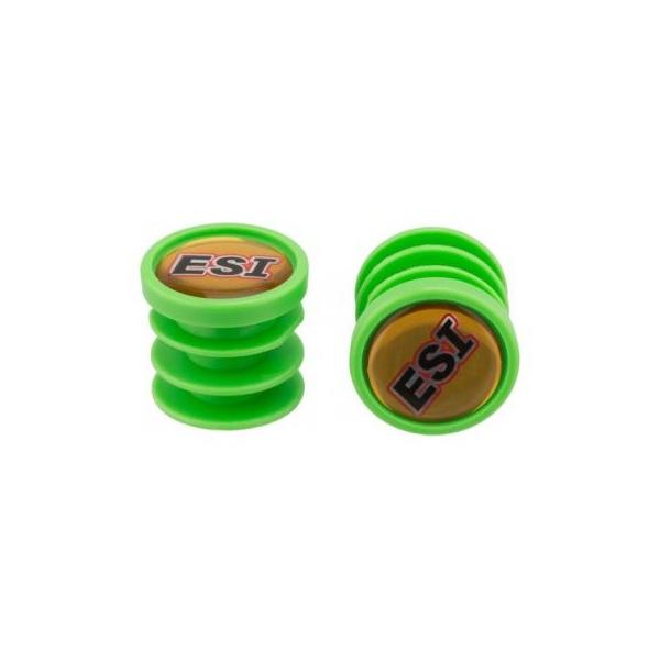 ESI Chunky színes kormányvég dugó, Zöld