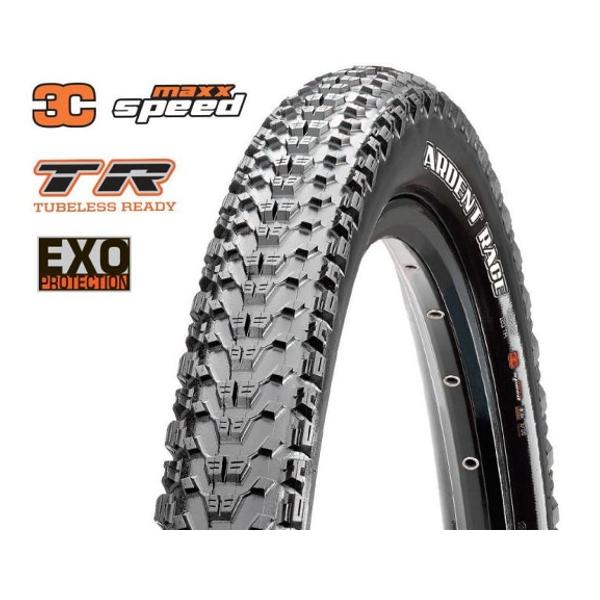 Maxxis Ardent Race Kevlar EXO TR  3C Max Speed 120 TPI 29x2.20 MTB külső gumi